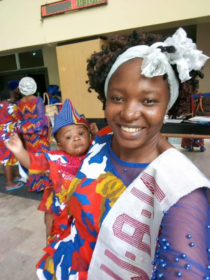 NAWE @ 25 celebration. Mother & child