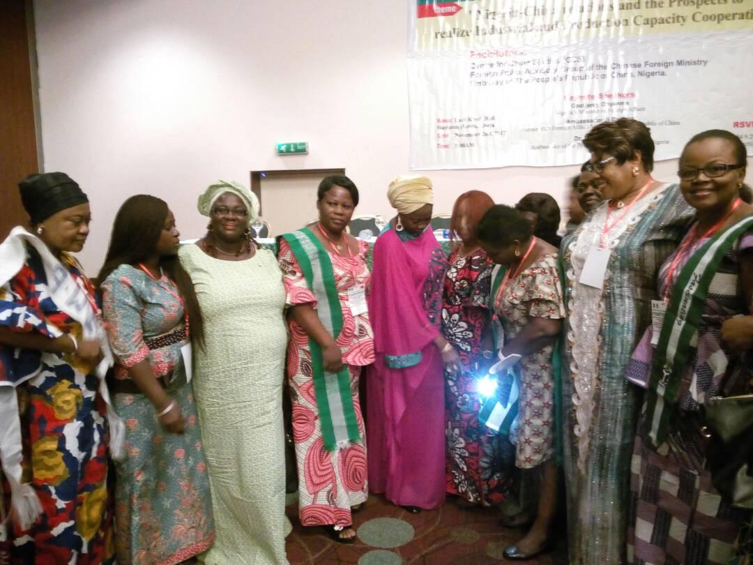 Courtesy visit to DG NationalCenter for Women Development Abuja