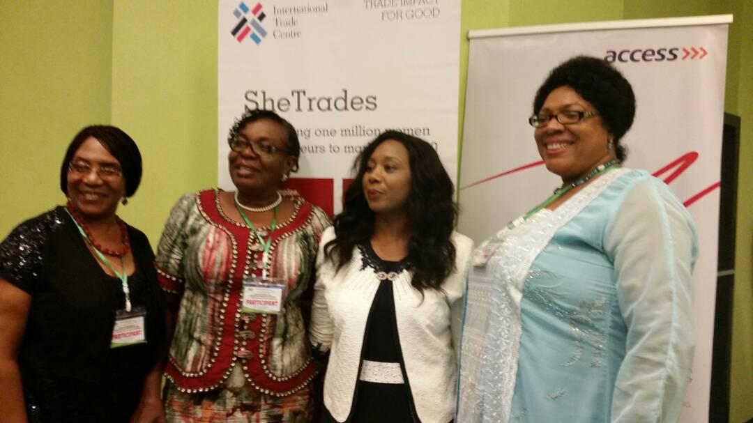 NAWE @ SHETRADES Commonwealth event, Lagos