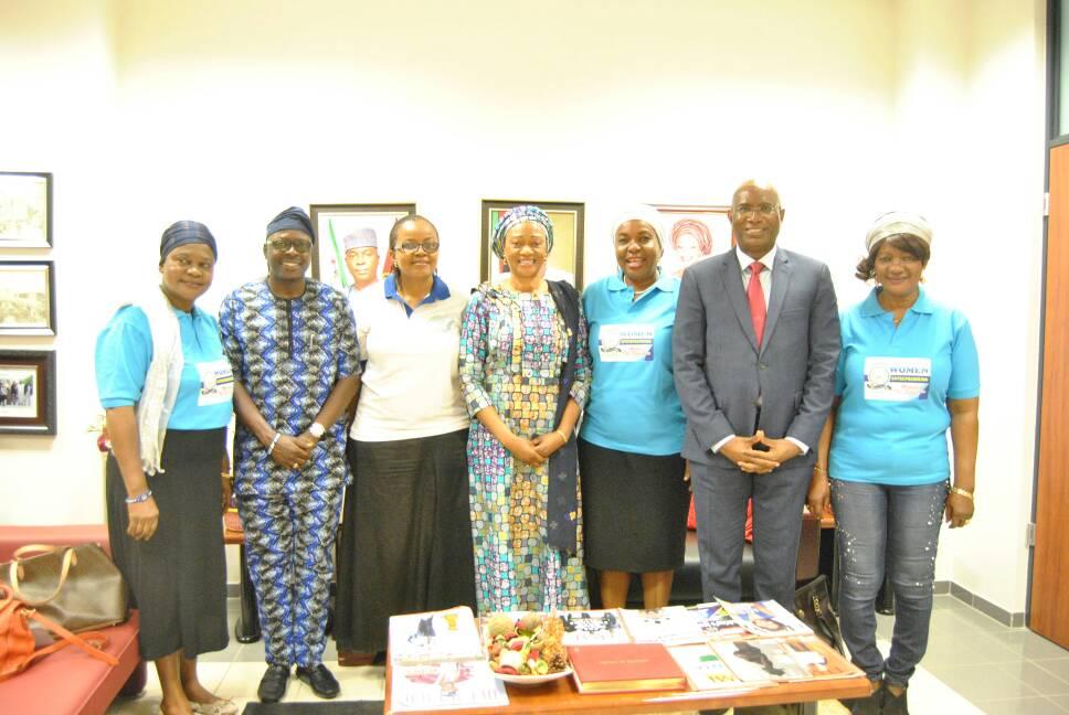 Courtesy visit to Distinguished Senator Oluremi Tinubu